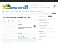 Bestbonsaitreecare.com - The Bonsai Tree Resource