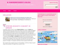 a hairdresser blog.a personal blog of Lito Antoque