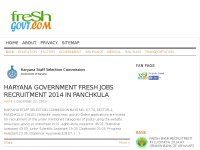 Fresh India Government Jobs Recruitment 2014-2015