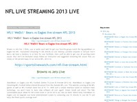 NFL LIVE STREAMING 2013 LIVE