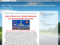 NFL FINAL:Seahawks vs Broncos live stream Super Bowl XLVIII 2014.