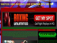 WATCH BOXING LIVE STREAM HDQ TV ONLINE