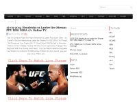 15-03-2014 Hendricks vs Lawler live Stream PPV HBO MMA 171 Online TV