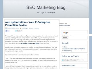 SEO Marketing Blog