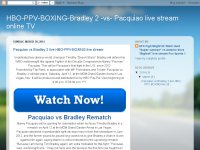 Pacquiao vs Bradley 2 live HBO-PPV-BOXING live str