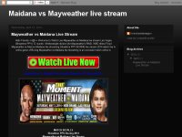 Maidana vs Mayweather live stream