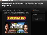 Mayweather VS Maidana Live Stream Showtime Fight P