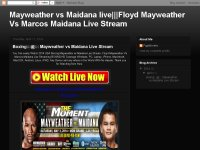 Boxing:::@::: Mayweather vs Maidana Live Stream