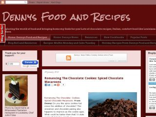 Dennys Food and Recipes
