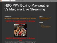 HBO PPV Boxing-Mayweather Vs Maidana Live Streaming