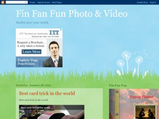 Fin Fan Fun Photo and Video