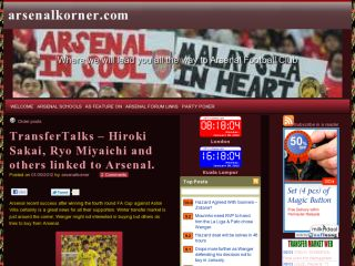 ArsenalKorner - Where all about Arsenal revealed