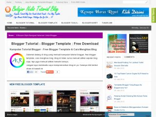 Blogger Tutorial Free Blogger Template, Tips Trick