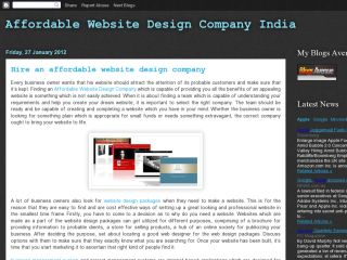 Affordable Website Design Company India