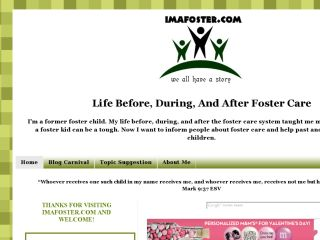 Im A Foster Life before, during, and after foster care