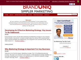 BrandUniq-Simpler Marketing