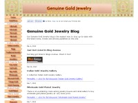 Genuine Gold Jewelry Blog