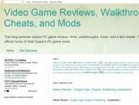 Video Game Reviews, Walkthroughs, Cheats, and Mods