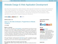Website Design & Web Application Development