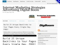 Internet Marketing Strategies Advertising