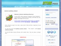 Internet marketing software