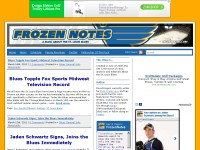 St. Louis Blues Blog - Frozen Notes