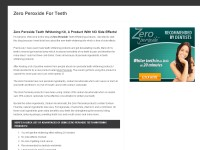 Zero Peroxide Teeth Whitening Kit