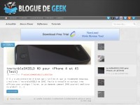 Blogue de Geek