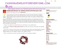 Affordable Jewelry - FashionJewelryForEveryone.com