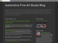 Automotive Fine Art Studio Blog - Car Art