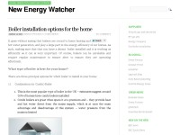 New Energy Watcher