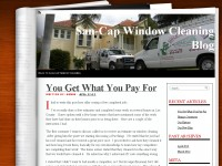 San-Cap Window Cleaning Blog