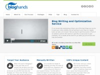 Blog Writing and Optimization Service
