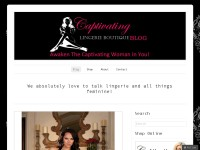 Captivating Lingerie Boutique Blog