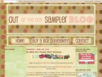 Out Of The Box Sampler Blog