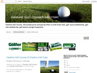 golf courses cheshire