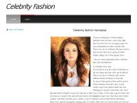All about celebrity fashion