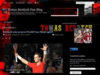 Tomas Berdych Fan Blog