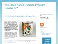 The Sleep Apnea Exercise Program Review ???