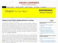 Guide For Distance Education
