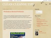 CLEAN CLEANSE TIPS