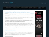 Indoor Golf Blog