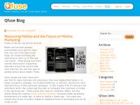 Qfuse Blog - QR Code and Mobile Marketing News