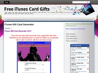 Free Itunes Card Gifts