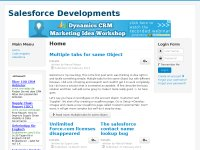 salesforce developments