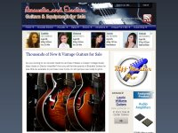 Acoustic and Electric Guitars Blog