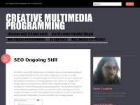 Creative Multimedia Programming