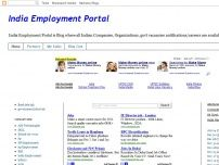 India Employment Portal All Jobs Notifications