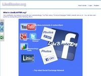 LikeBlaster.org - Get Real Facebook Likes, Twitter Followers, Youtube Views