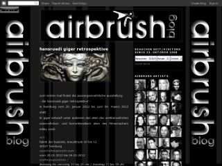 the airbrush art blog